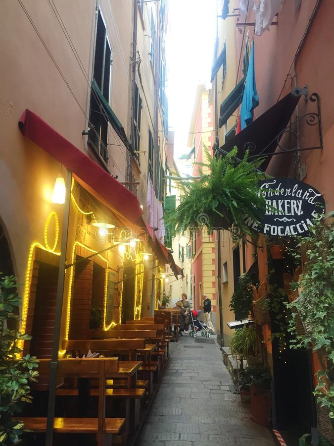 Ulicy Italy, cinque terre fotografia stock