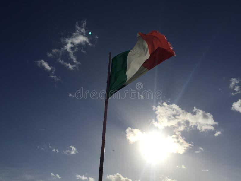 Ulicy Italy, los angeles sepiowy obraz stock