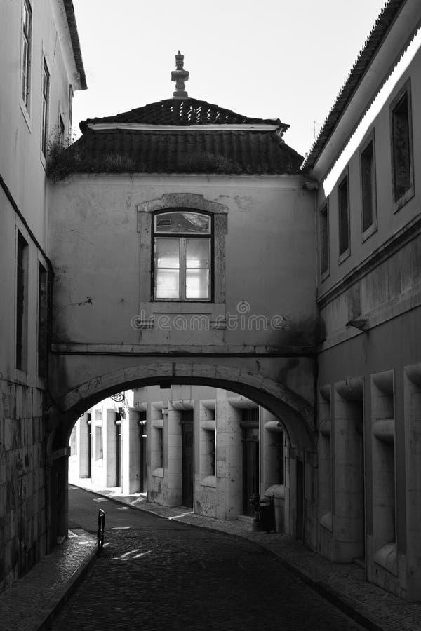 Ulicy Lisbon zdjęcia royalty free