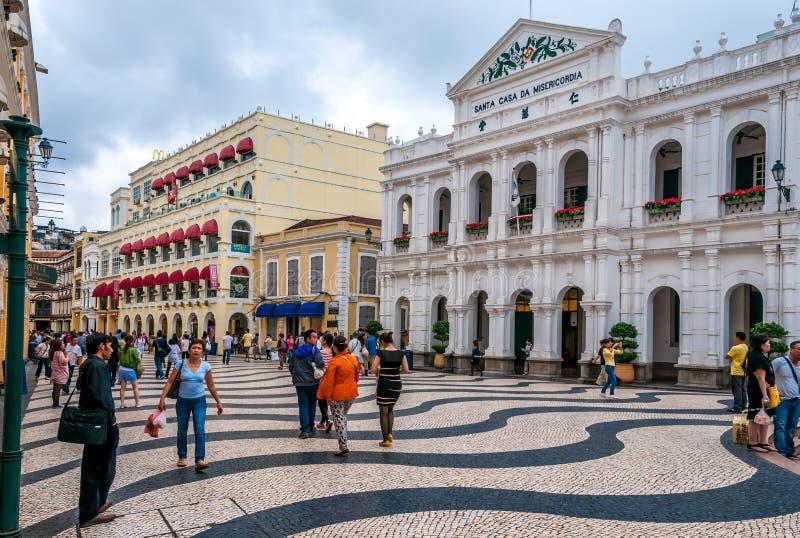 Ulicy Macau zdjęcie royalty free
