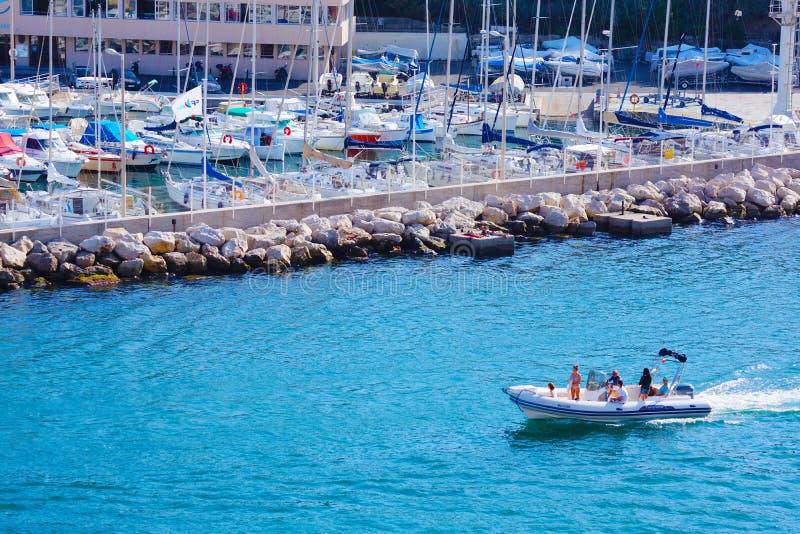 Ulicy Marseille, Francja fotografia stock