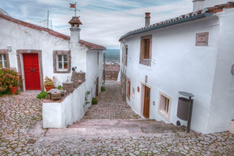 Ulicy Marvao, Alentejo, Portugalia zdjęcie royalty free