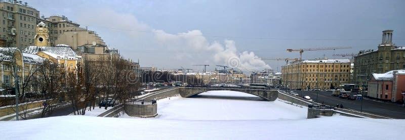 Ulicy Moskwa obrazy stock