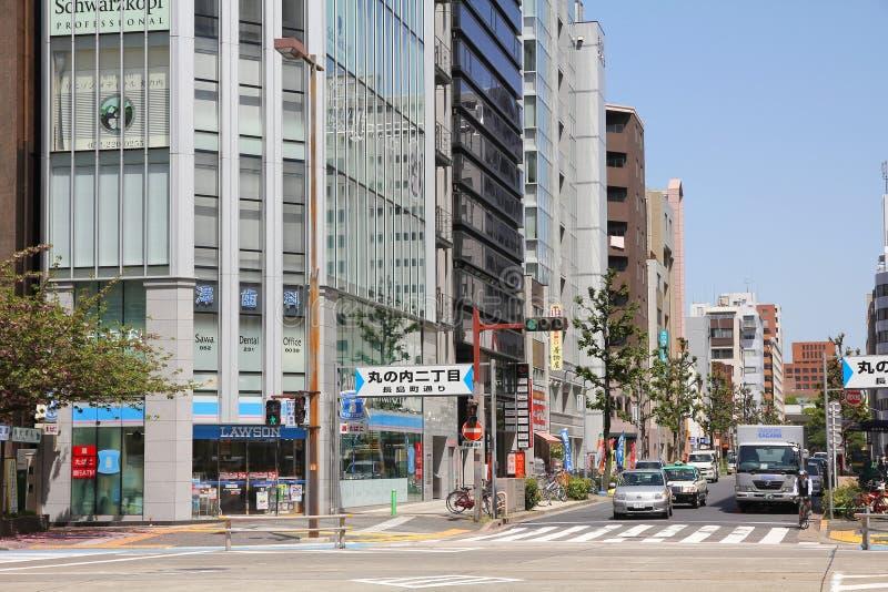 Ulicy Nagoya fotografia royalty free