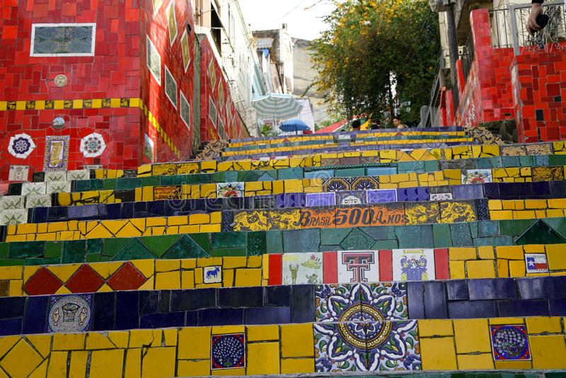 Ulicy Rio De Janeiro, Brazylia obraz royalty free