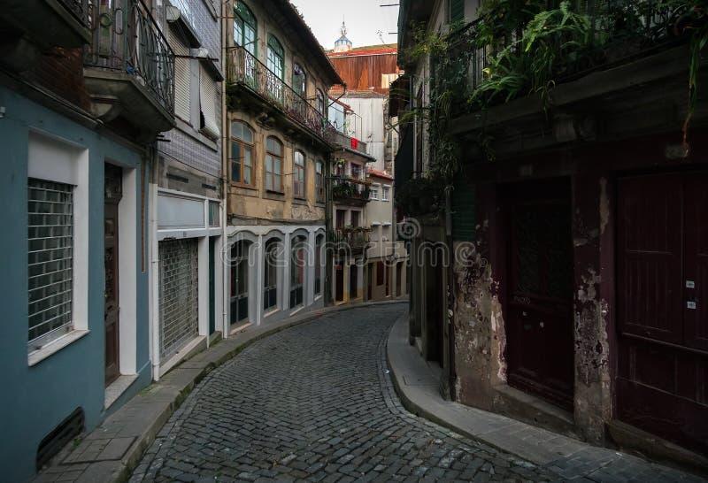 Ulicy stary Porto Portugalia fotografia stock