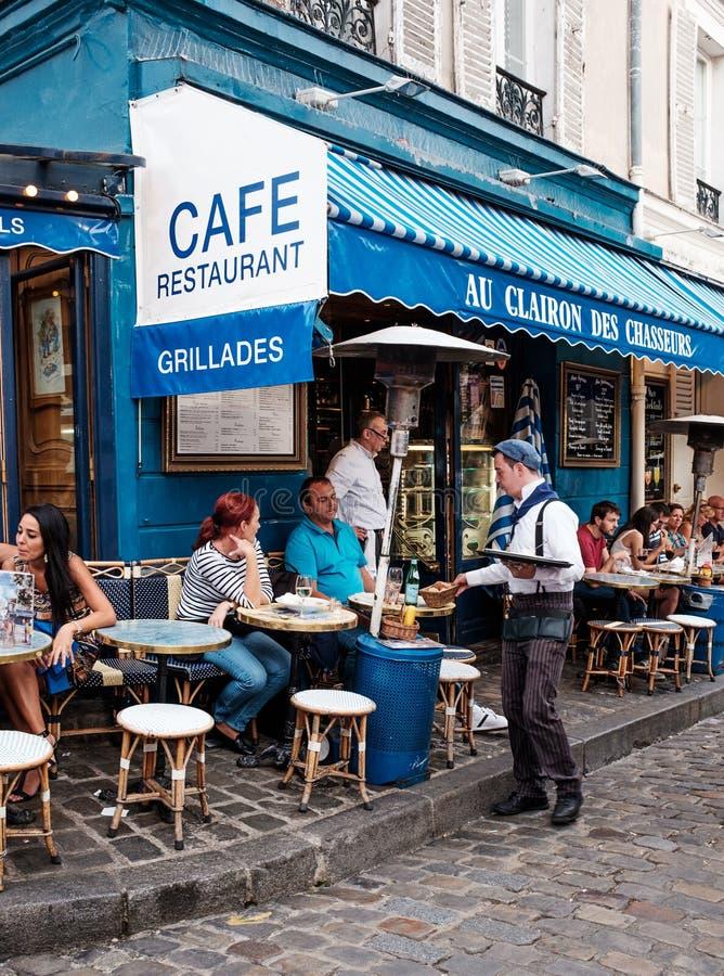Uliczna kawiarnia zdjęcie royalty free