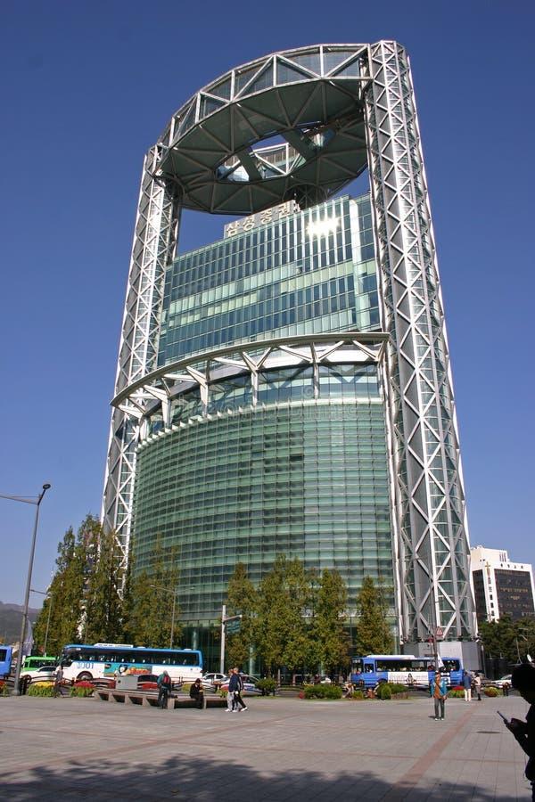 Uliczna scena, Seul, Południowy Korea fotografia royalty free