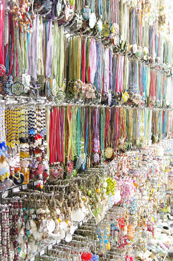 Ulicznego rynku pamiątki rynek zdjęcia royalty free