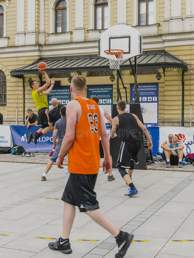 Uliczny Baskeball obrazy stock