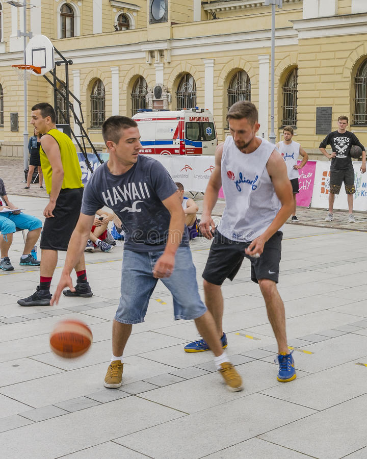 Uliczny Baskeball zdjęcia stock