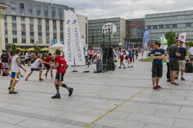 Uliczny Baskeball zdjęcie stock