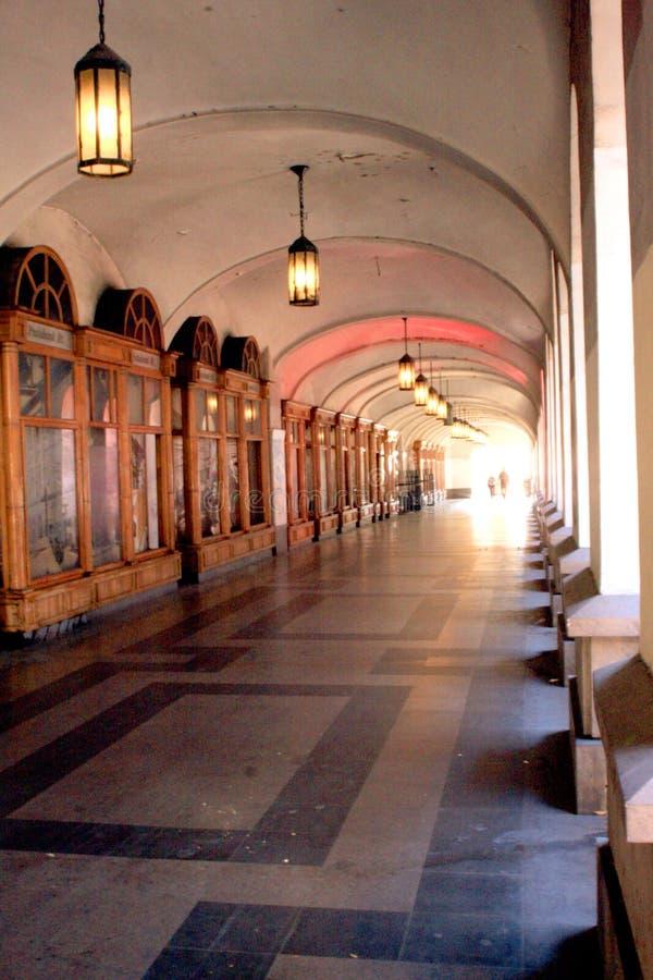 Uliczny korytarz Budapest zdjęcia royalty free