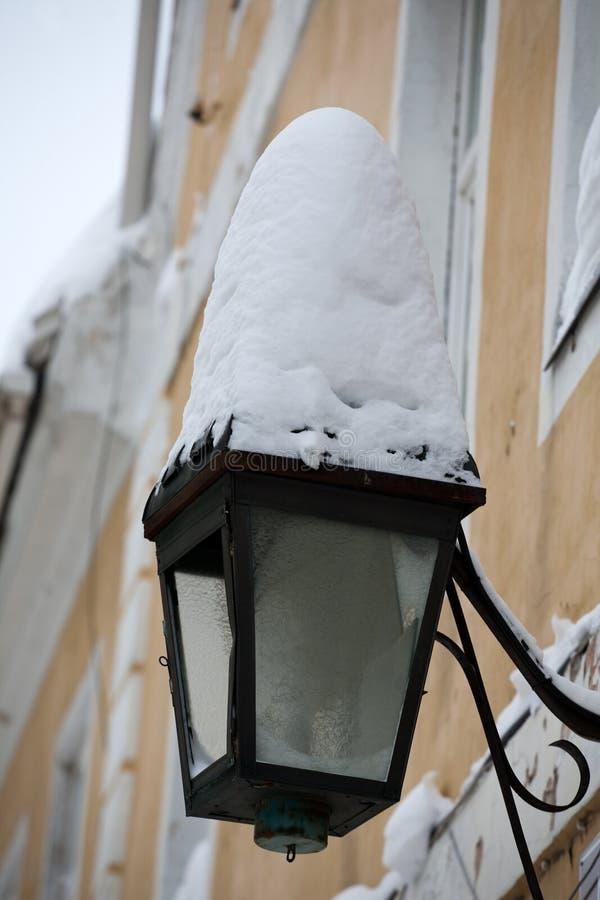 Uliczny lampion obrazy stock