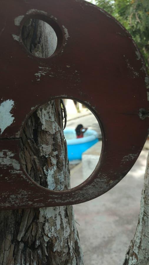Uliczny Pływacki basen obrazy stock