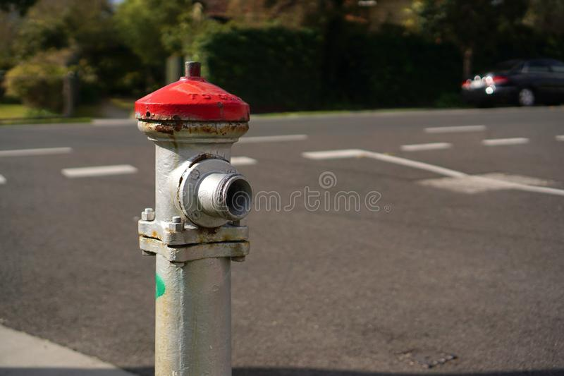 Uliczny pożarniczy hydrant zdjęcia stock