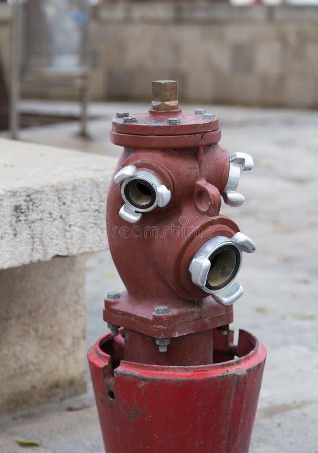 Uliczny pożarniczy hydrant obrazy stock
