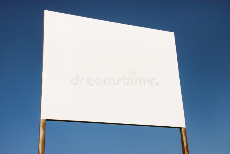 Uliczny pusty reklamowego billboarda pokaz, zawiadomienie stół Reklamowe agencje zdjęcia royalty free
