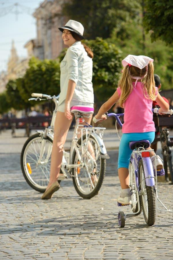 Uliczny rower obrazy royalty free