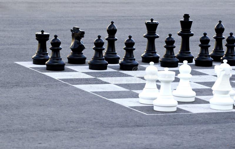 Uliczny szachy zdjęcia royalty free