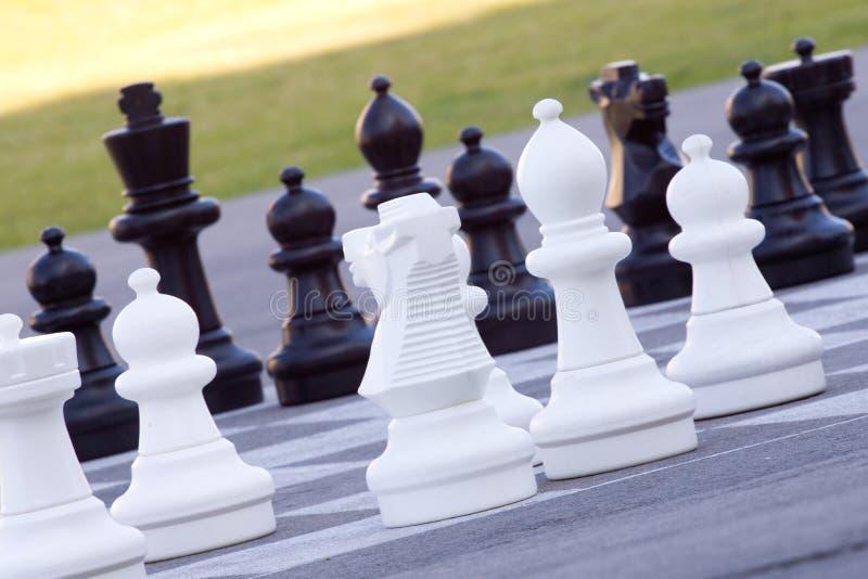 Uliczny szachy zdjęcie stock