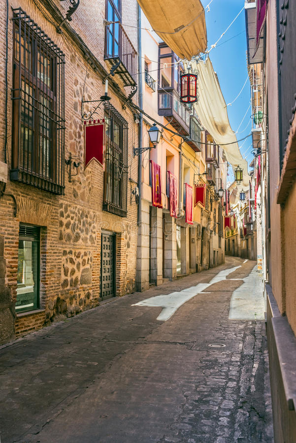 uliczny Toledo zdjęcie royalty free