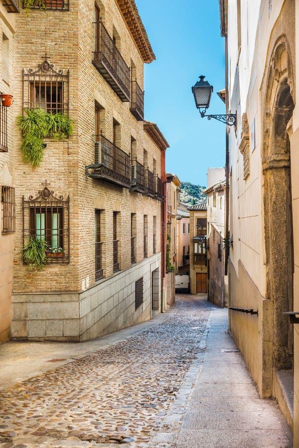 uliczny Toledo zdjęcie stock