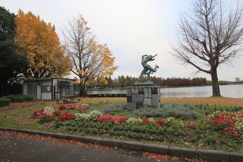 Uliczny widok w Tokio obrazy royalty free