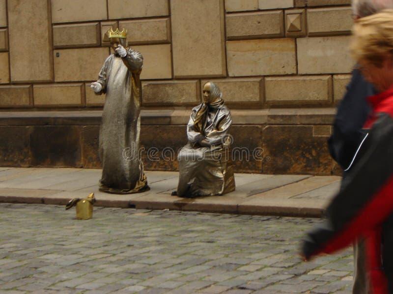 Uliczny występ obrazy royalty free