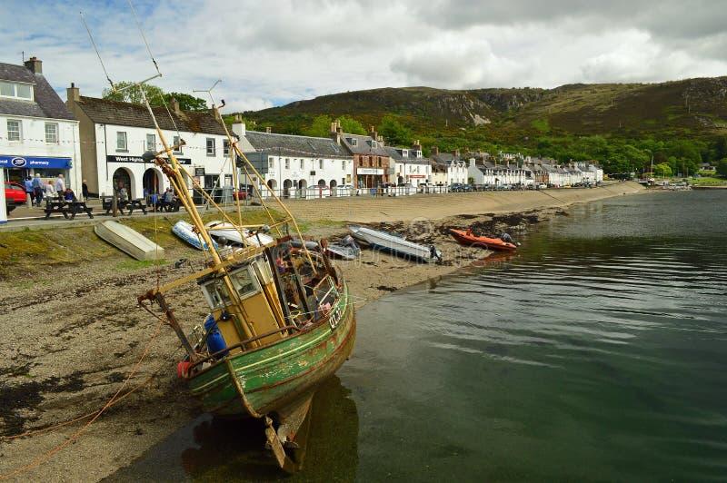 Ullapool Szkocja, Zjednoczone Królestwo, Europa fotografia royalty free