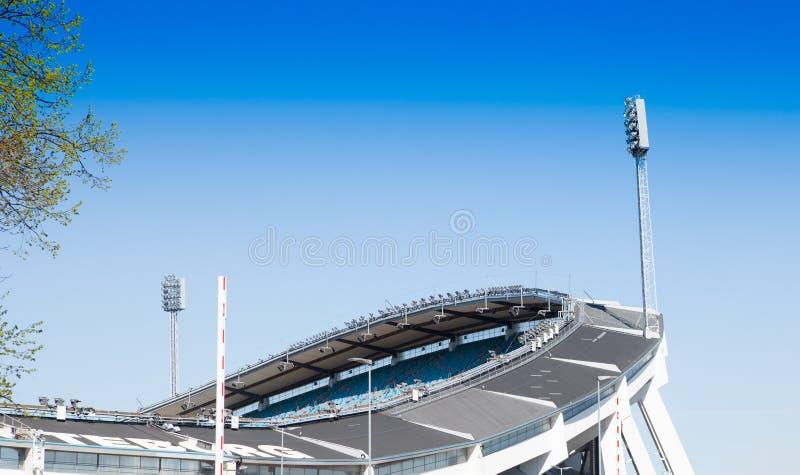 ullevi футбольного стадиона стоковые изображения rf