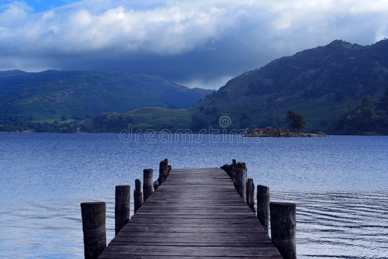 ullswater озера стоковое фото rf