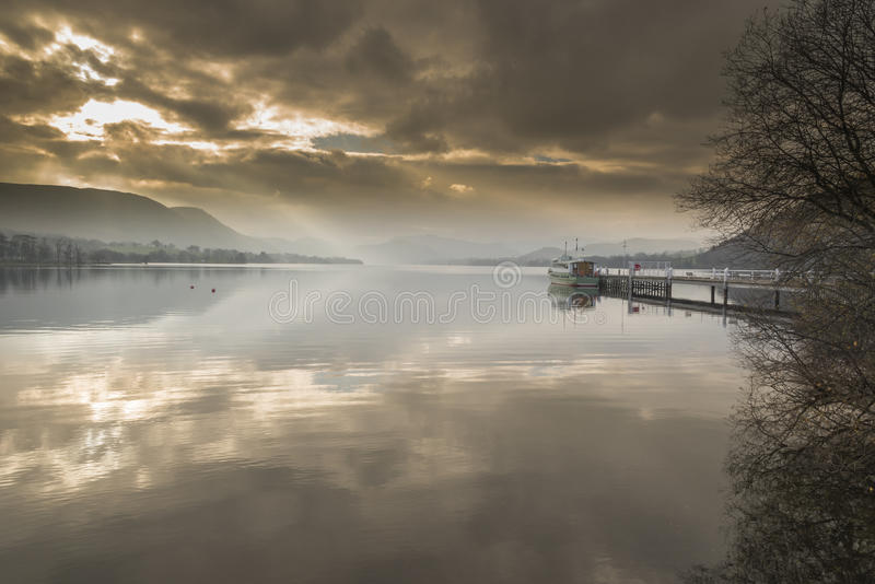 Ullswater da ponte de Pooley foto de stock