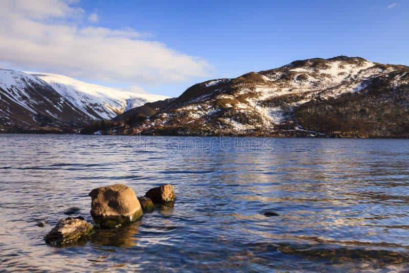 Ullswater jeziora widok obrazy royalty free