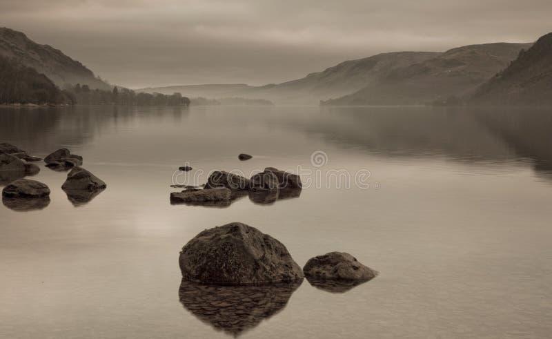 Ullswater Lake royalty free stock image