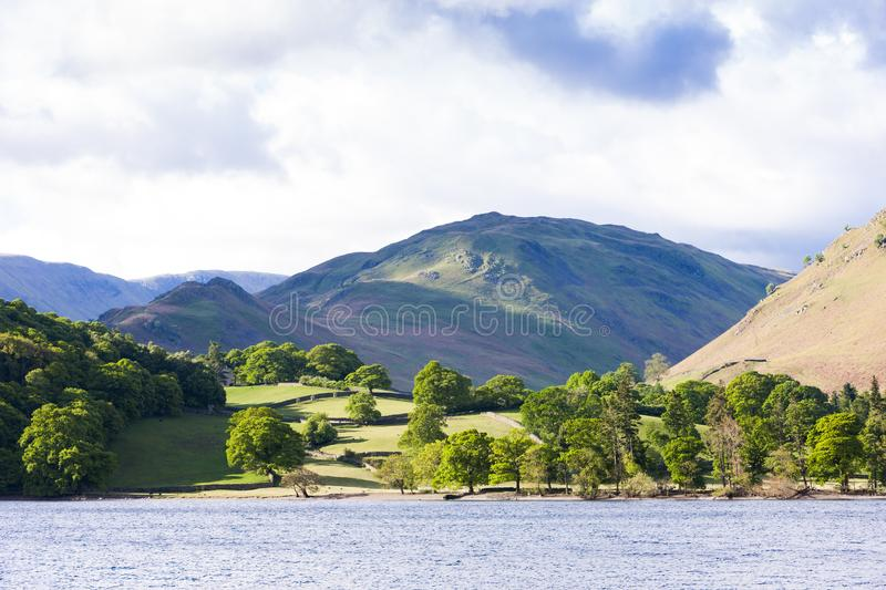 Ullswater, Lake District, Cumbria, England royalty free stock images