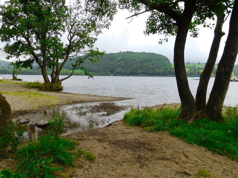 Ullswater Lake royalty free stock photo