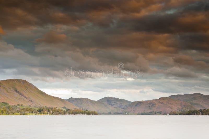 Ullswater sceneria zdjęcia stock
