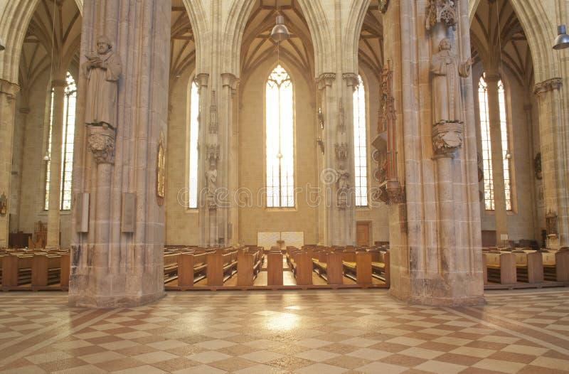 ulm монастырской церкви Германии зодчества готское стоковое изображение rf