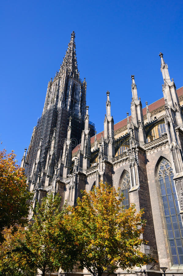 Ulm Cathedral stock photo