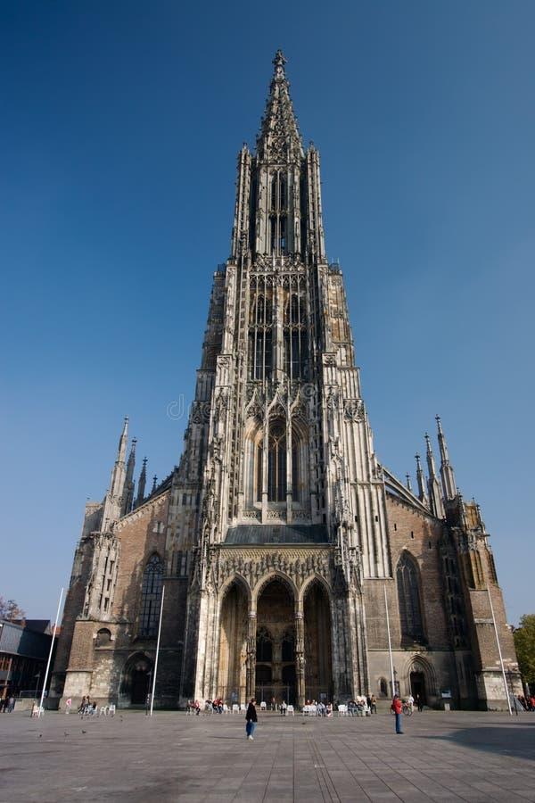 Ulm Munster fotografia stock libera da diritti