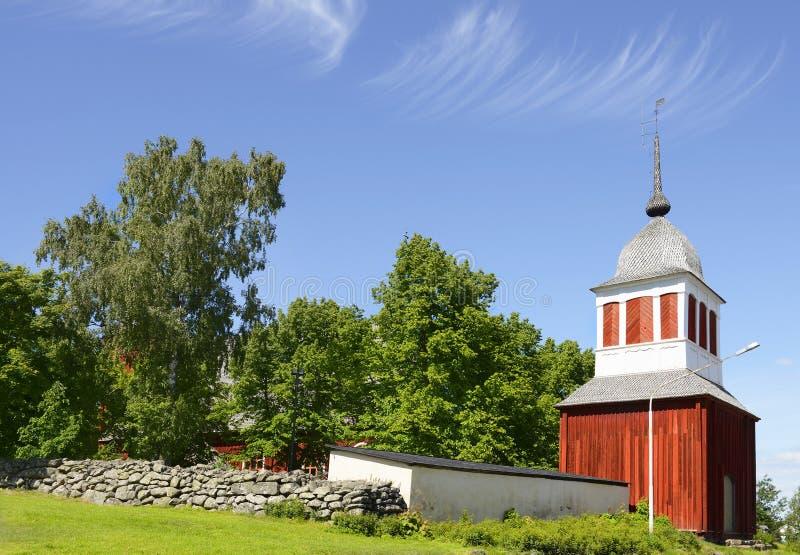 Ulrika Eleonora Church (fue terminado en 1700) fotografía de archivo