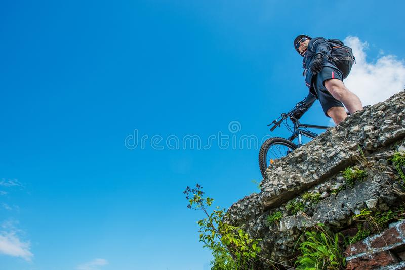 Ultimate Bike Riding royalty free stock image