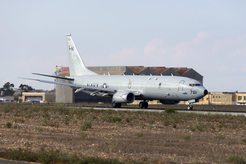 Ultimi aerei della piattaforma dell'elettronica della marina statunitense fotografia stock