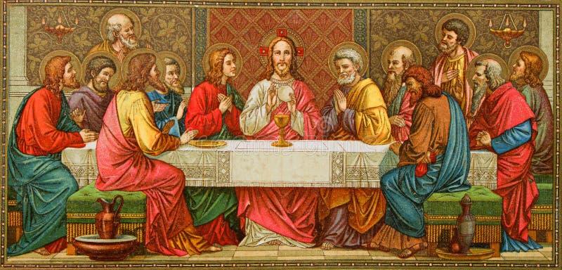 Ultimo eccellente di Christ fotografie stock libere da diritti