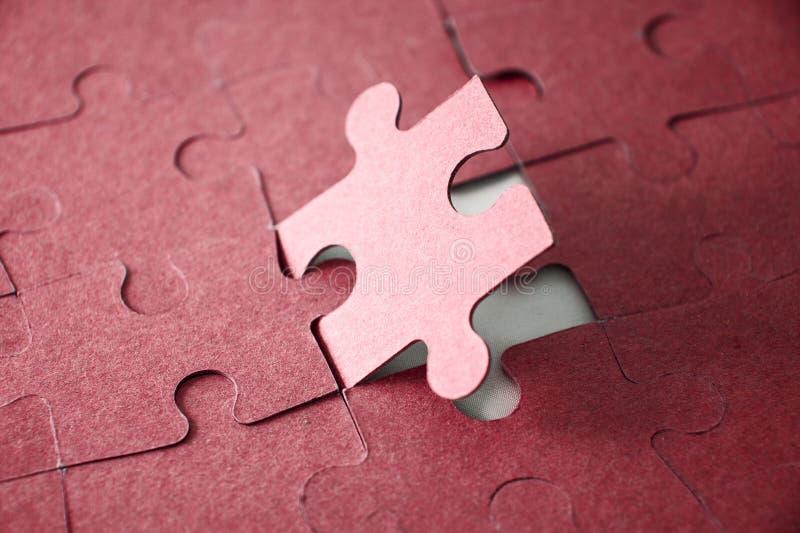 Ultimo pezzo di puzzle fotografia stock libera da diritti