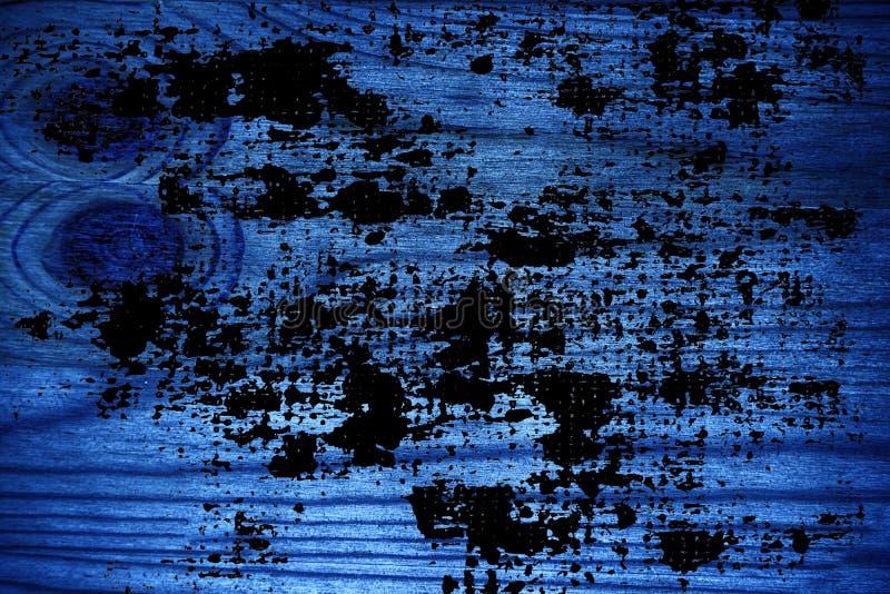 Ultra blauwe Houten textuur, scherpe raadsoppervlakte voor ontwerpelementen stock afbeeldingen