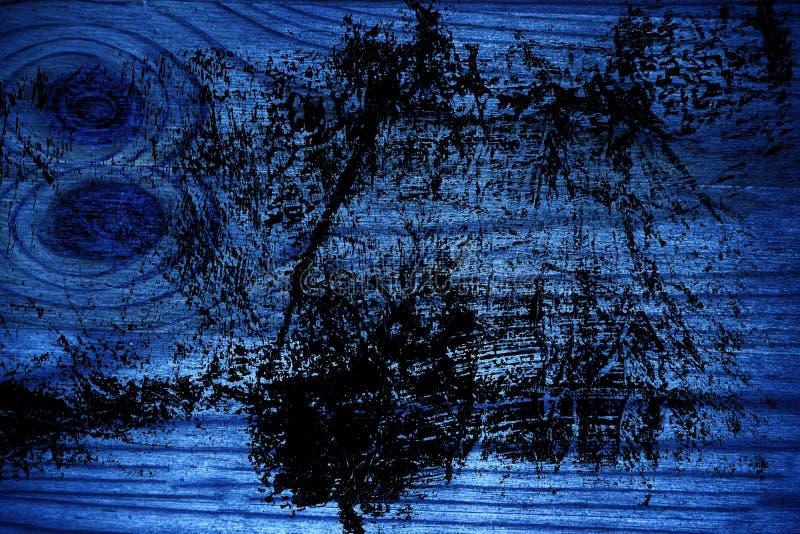 Ultra blauwe Houten textuur, scherpe raadsoppervlakte voor ontwerpelementen stock foto