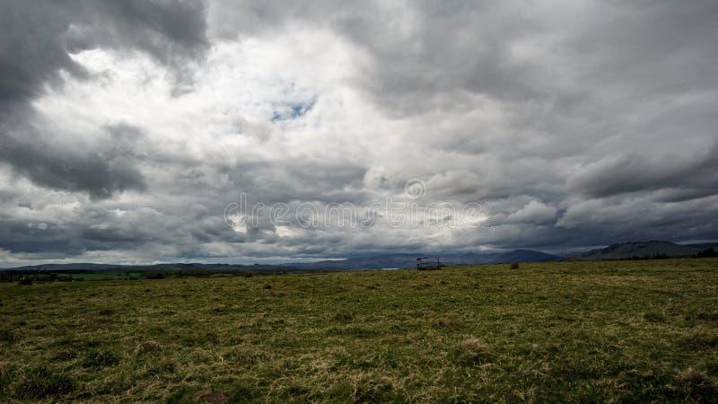 Ultra breed landschap stock foto's