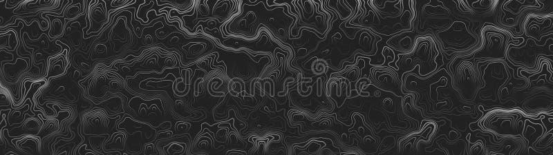 Ultra breiter Tapeten-Zusammenfassungs-Vektor-Hintergrund lizenzfreie abbildung